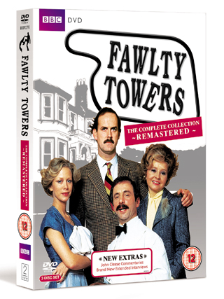 fawlty towers complete collection dvd review cover