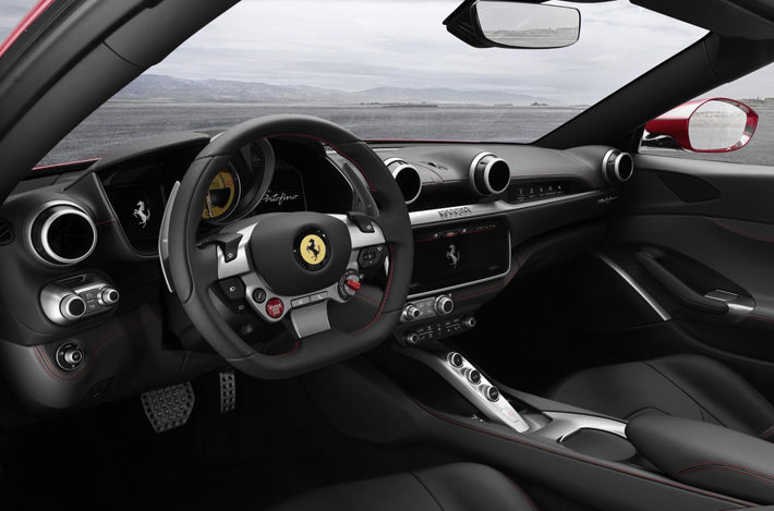 ferrari portofino car review interior