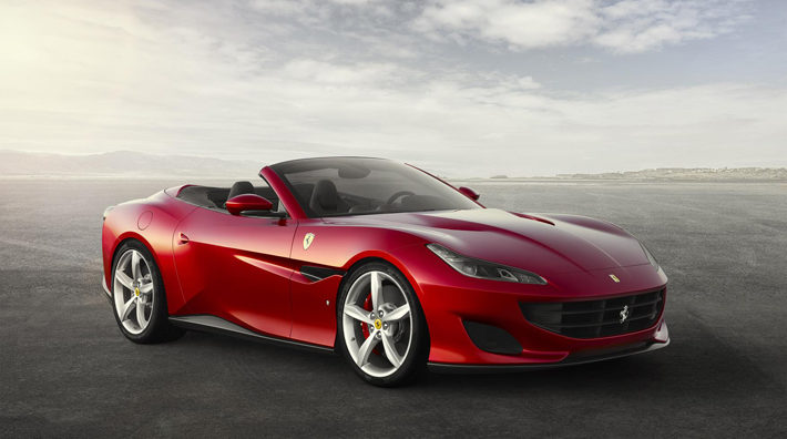 ferrari portofino car review side