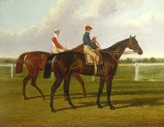 first dead heat at doncaster st leger horse racing