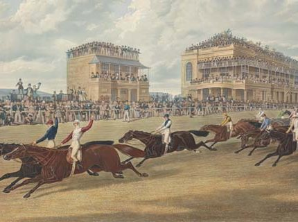 first dead heat at doncaster st leger