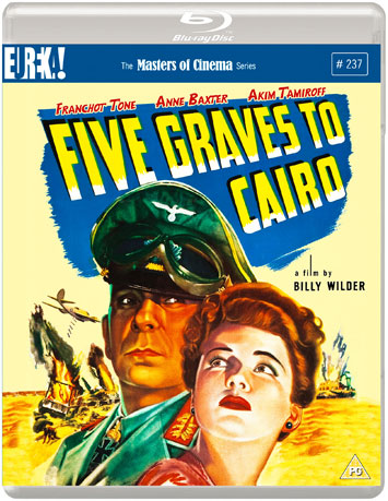 five graves to cairo film review cover