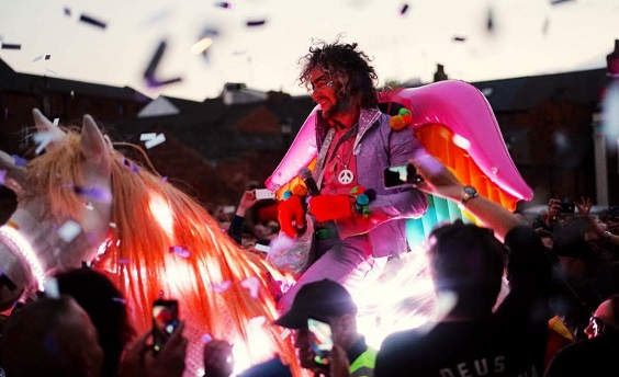 flaming lips live review hull horse