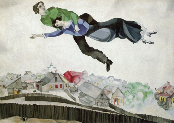 flying lovers of vitebsk review west yorkshire playhouse march 2018 chagall painting