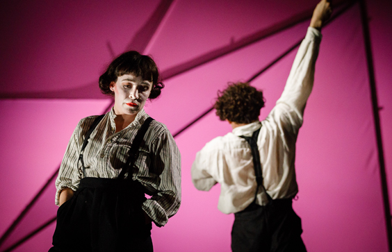 flying lovers of vitebsk review west yorkshire playhouse march 2018 pink
