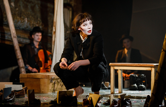 flying lovers of vitebsk review west yorkshire playhouse march 2018 play