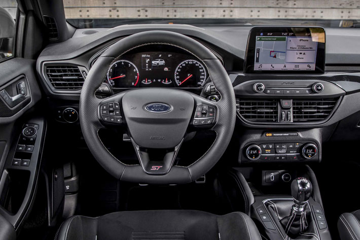 ford focus st car review interior