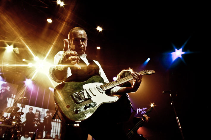 francis rossi status quo interview stage