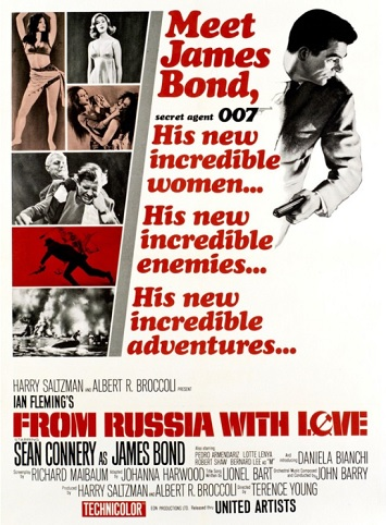 from russia with love film review poster