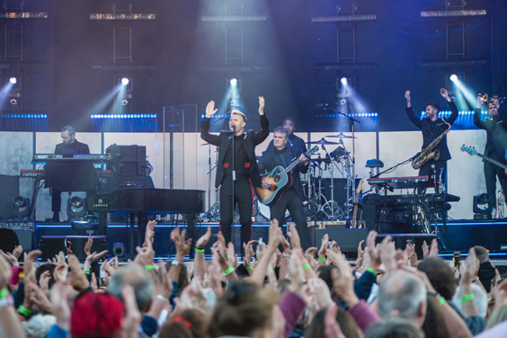 gary barlow live review scarborough open air theatre june 2018 yorkshire