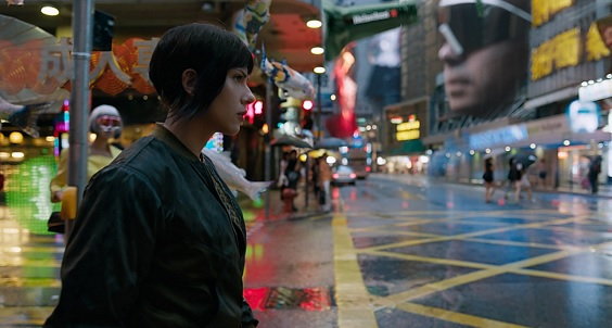 ghost in the shell film review city