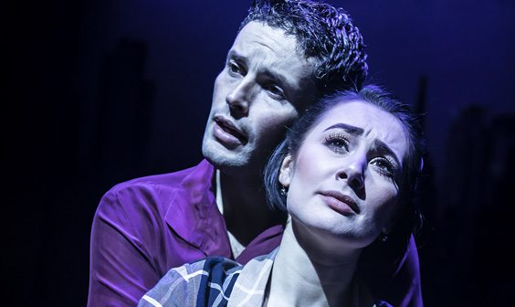 ghost the musical review bradford alhambra april 2019 scene