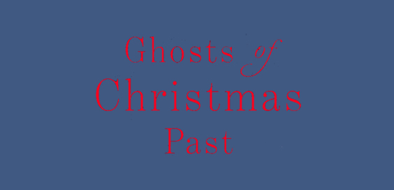 ghosts of christmas past book review logo