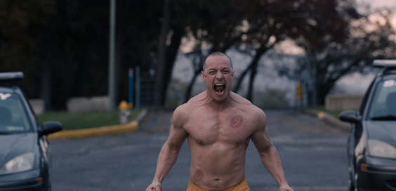glass 2019 film review beast james mcavoy