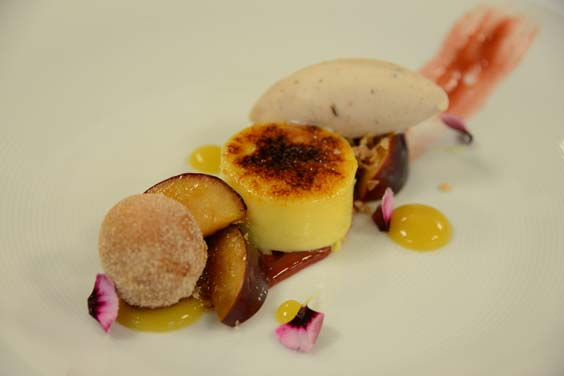goldborough hall knaresborough restaurant review dessert