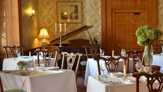 goldborough hall knaresborough restaurant review interior