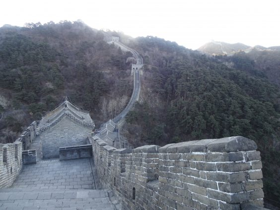 great wall of china travel review path