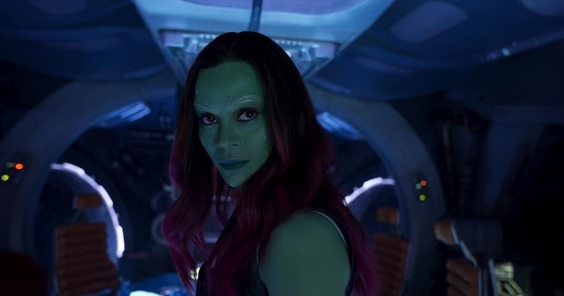 guardians of the galaxy vol 2 film review zoe saldana