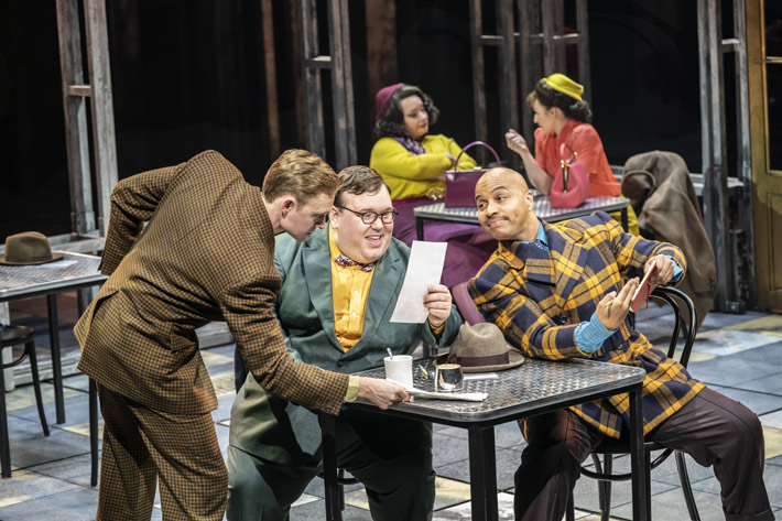 guys and dolls review sheffield crucible review december 2019 lloyd