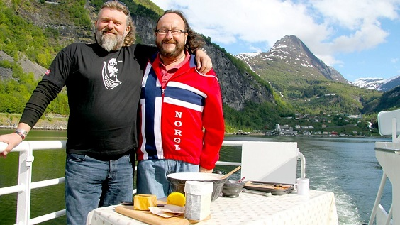 hairy bikers interview