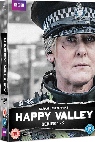 happy valley series 1-2 dvd review cover