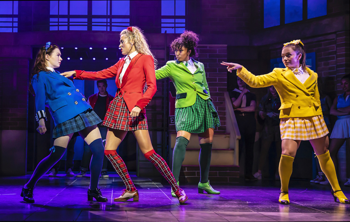 heathers review sheffield lyceum stage