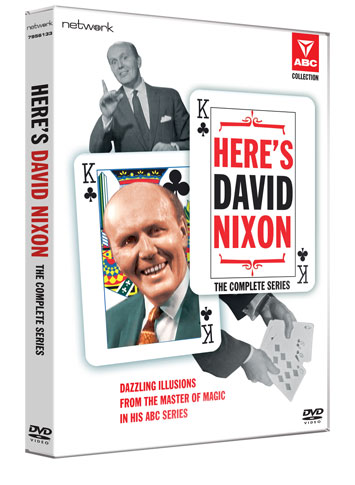 here's david nixon dvd review cover