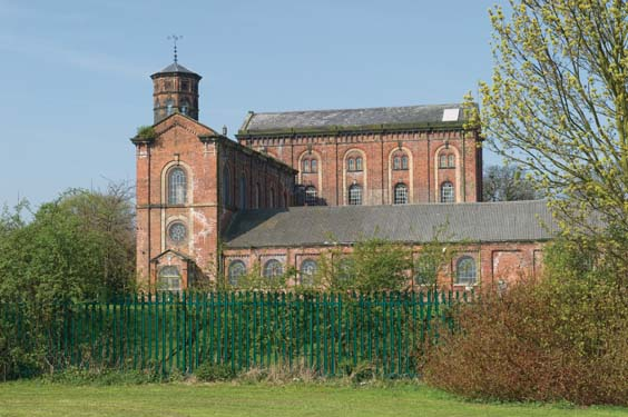 historic hull Springhead Pumping Station, Willerby
