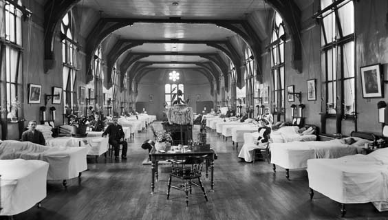 historic leeds The Children's Ward in Leeds General Infirmary hospital