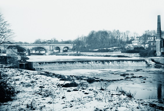 historic tadcaster 4. Hudson's Folly and the Wier