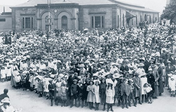 historic whitby photos childrens peace celebrations