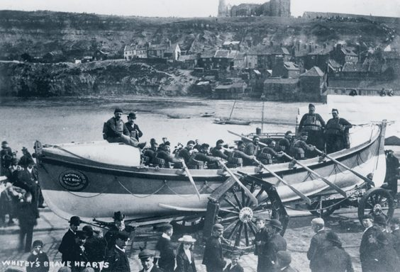 historic whitby photos rowing lifeboat