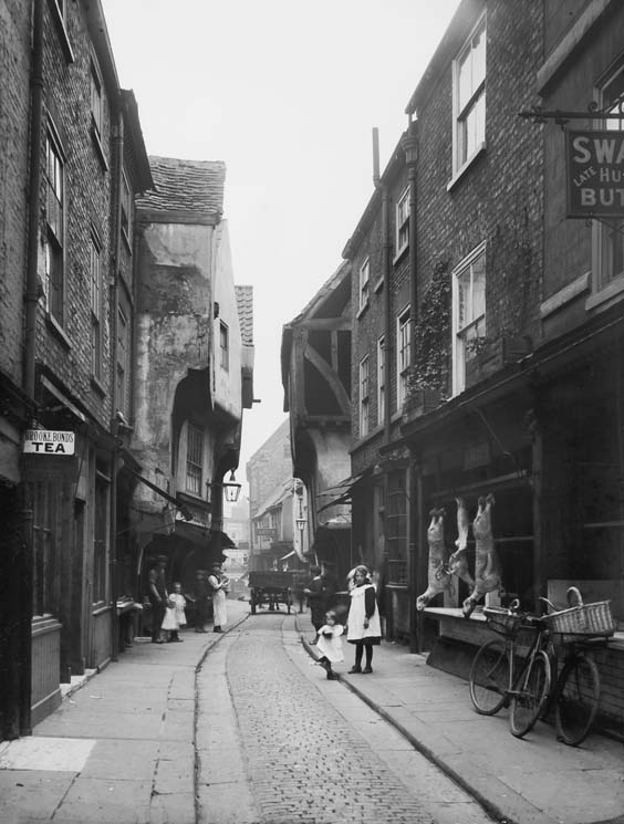 historic york The Shambles in 1910