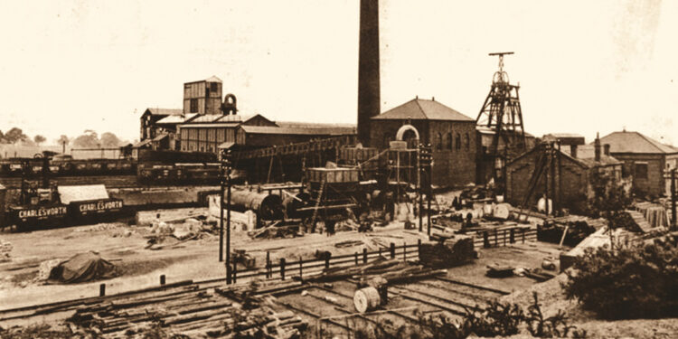 history of coal mining in wakefield main