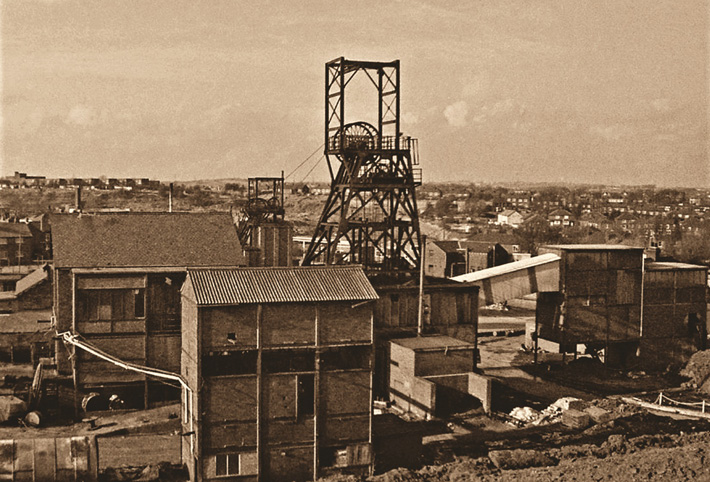 history of coal mining in wakefield manor colliery