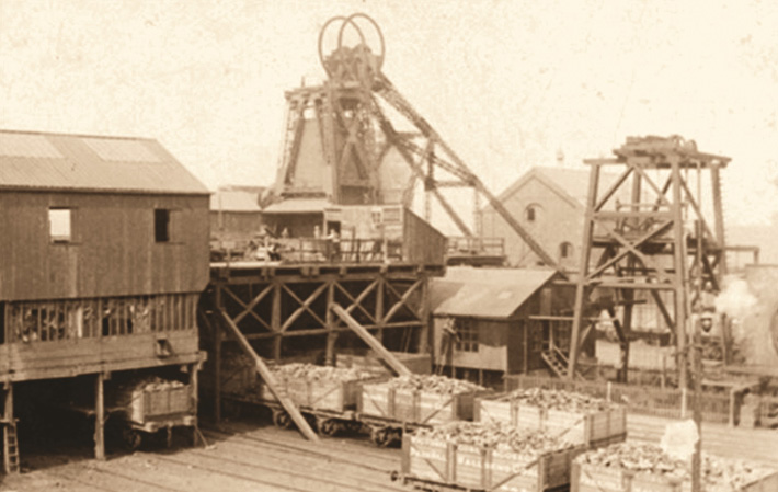 history of coal mining in wakefield park hill