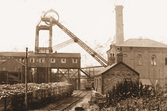 history of coal mining in wakefield work