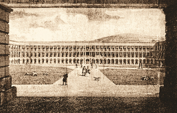 history of the piece hall halifax historical postcard