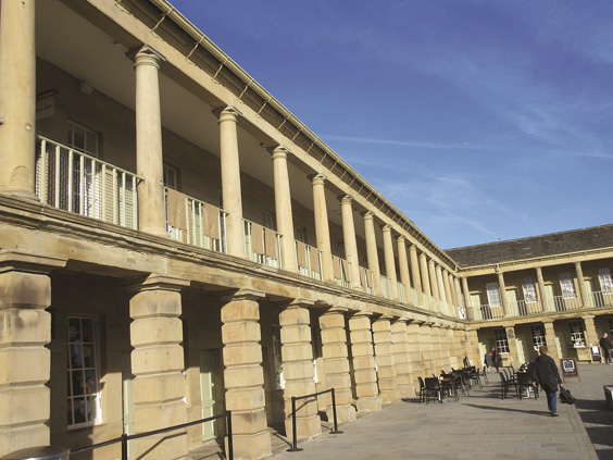 history of the piece hall halifax today