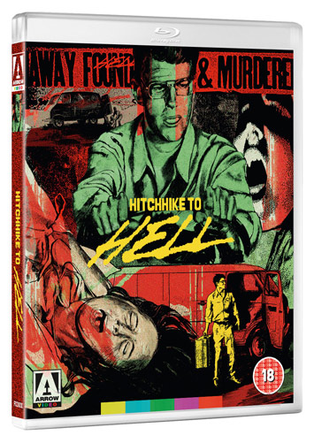 hitch hike to hell film review bluray cover
