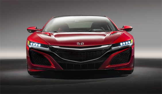 honda nsx car review front