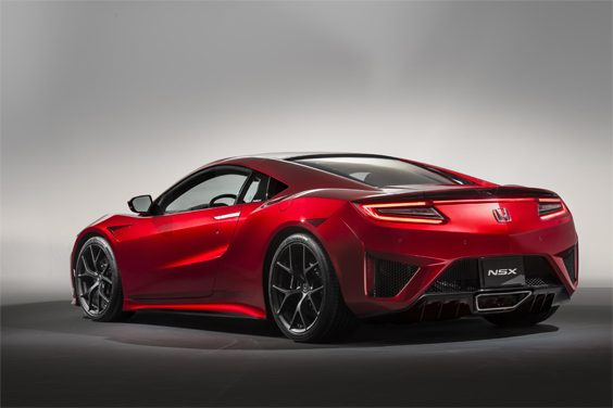 honda nsx car review rear