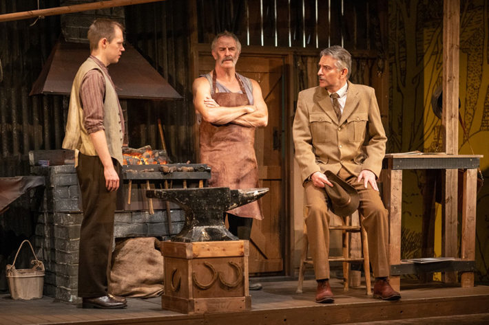 horseshoes for hand grenades review east riding theatre october 2019 blacksmith