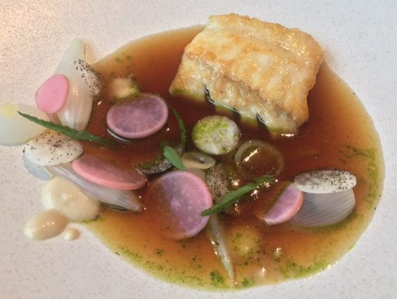 horto rudding park harrogate restaurant review turbot onions dashi