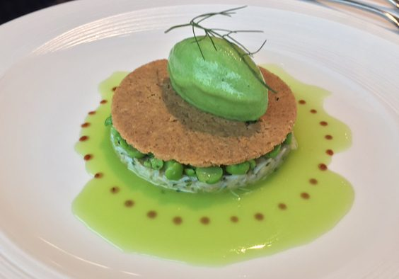 horto rudding park harrogate restaurant review whitby crab peas wasabi