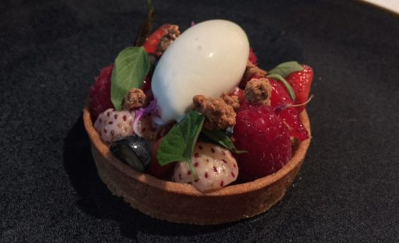 horto rudding park harrogate restaurant review yuzu tart, lemon thyme, local berries