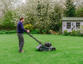how to correctly mow the lawn