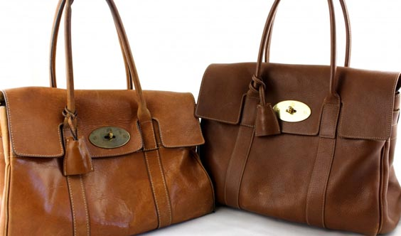 how to spot a fake mulberry leather and lining