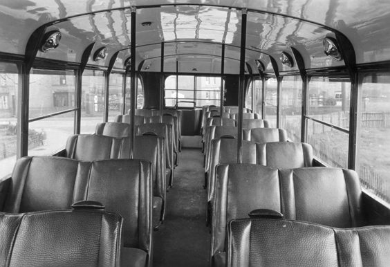 huddersfield trolleys and buses history P26 The craftsmanship on the Brush vehicle interiors was something to be admired