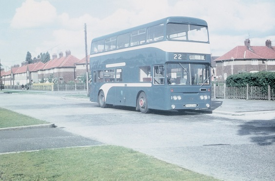hull corporation buses Atlantean No. 274, April 1970 (Malcolm Wells)